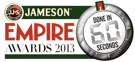 Public Voting Opens On November 29 For The Jameson Empire Awards 2013