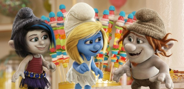 Smurfin' Eck! First Trailer For The Smurfs 2