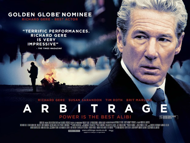 GFF 2013 – Watch UK Trailer & Poster For Richard Gere's Arbitrage