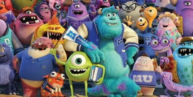 Meet The Gang In New UK Monsters University Poster