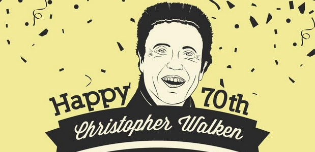 Happy Birthday Christopher Walken!