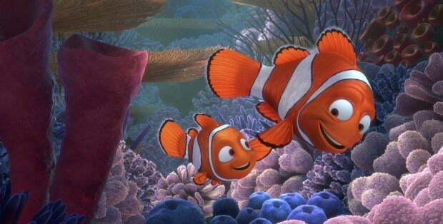 10 Funniest Scenes In Finding Nemo
