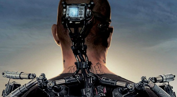 Its Better Up There, Watch The First Elysium Trailer Starring Matt Damon