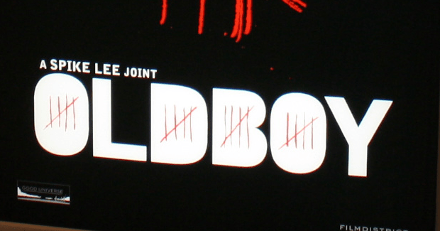 First Artwork For Spike Lee's Oldboy is revealed