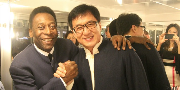 Pele and Jackie Chan Captioned (high res)