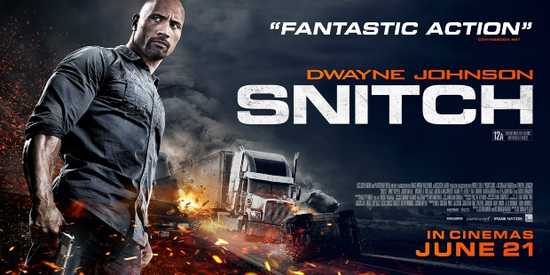 Samar 2013 Movie Poster: New UK Trailer & Poster For Dwayne Johnson's Snitch