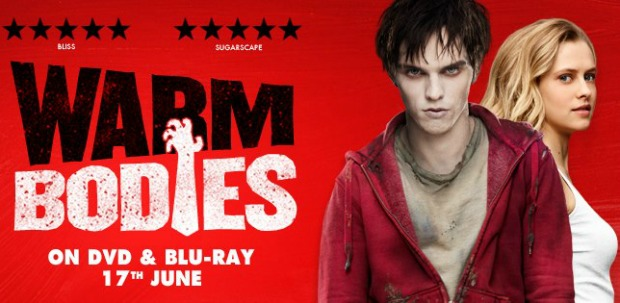 Win Warm Bodies Goody Bags (Includes Blu Ray Copy of Film)