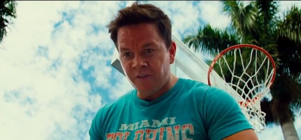 Mark Whalberg Plays Ball In New Pain & Gain Clip