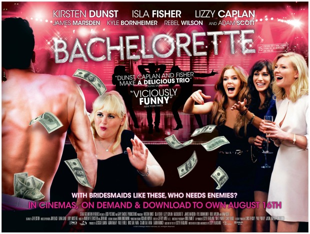 Win! Celebrate the release of BACHELORETTE with a selection of Lionsgate DVDs