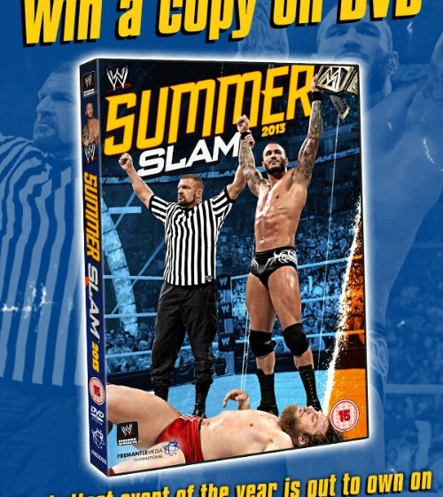 Competition – Win WWE Summerslam 2013 On DVD