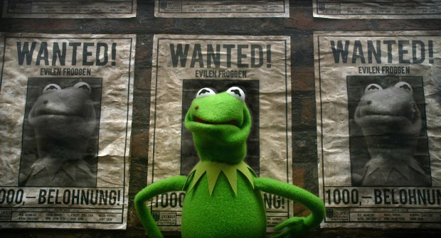 Most Electrifying UK Trailer For The Muppets Most Wanted Lands Online!