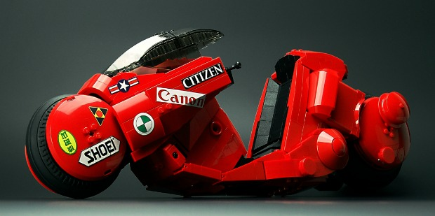 Cool Stuff – Iconic Akira 'Kaenda' Bike Gets A Lego Model