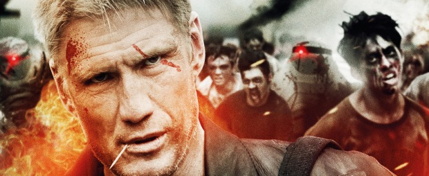 Dolph Lundgren Vs Walking Dead Win Battle Of The Damned On Blu Ray