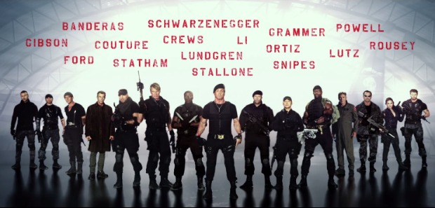 The Expendables 3-team