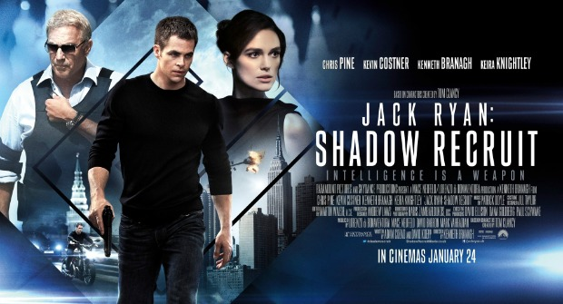 Win A Super Spy Merchandise Pack With Jack Ryan: Shadow Recruit