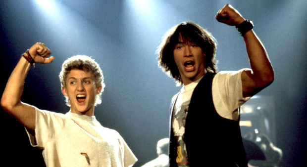 Blu-Ray Review – Bill And Ted's Excellent Adventure (25th Anniversary Edition)