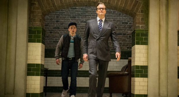 Colin Firth is Kingsman:The Secret Service Watch First Trailer