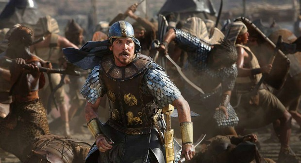 Bale Leads The Israelites In Exodus: Gods And Kings First Trailer