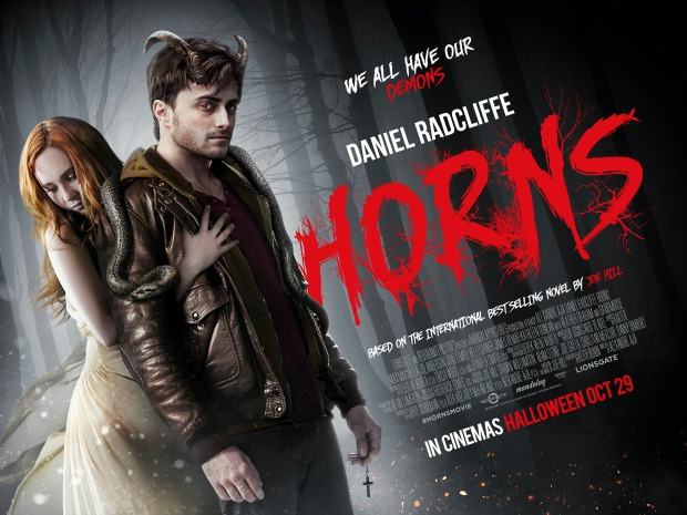 WIN A COPY OF HORNS TO CELEBRATE THE RELEASE OF THE MOVIE ADAPTATION
