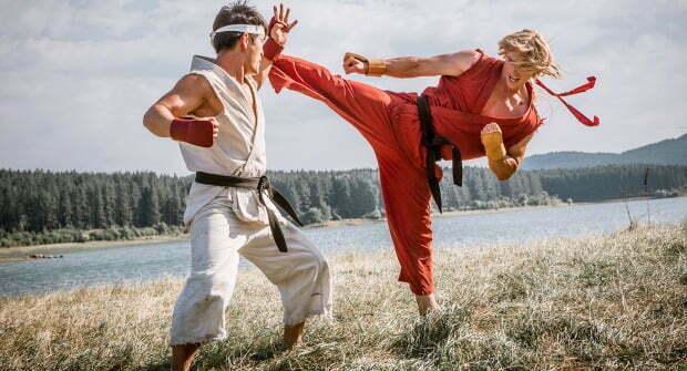 Win Street Fighter: Assassin's Fist  On Blu-ray!