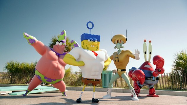 SpongeBob Gets Supersized and Cleans Up in new living posters