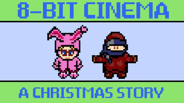 What If A Christmas Story Was Told 8-Bit Style Video Game?