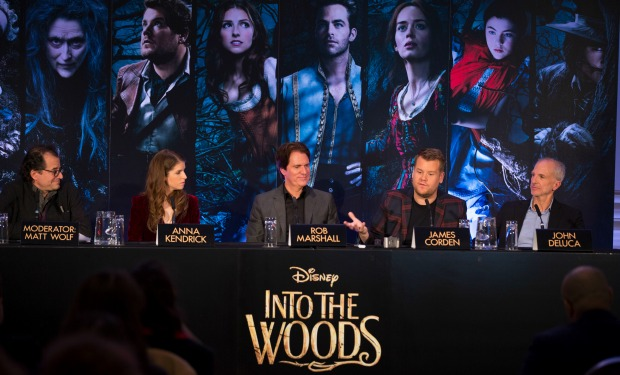 Into The Woods London Press Conference – Friday 12th December, 2014