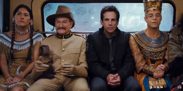 New clip for Night at the Museum: Secret of the Tomb