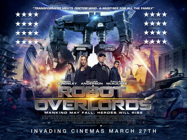Kids Save The World In Robot Overlords UK Trailer