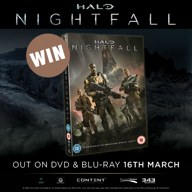 Win Halo Nightfall On Dvd