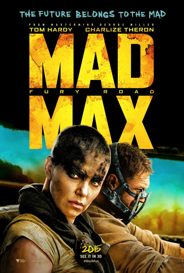 mad mad fury road UK Poster 2