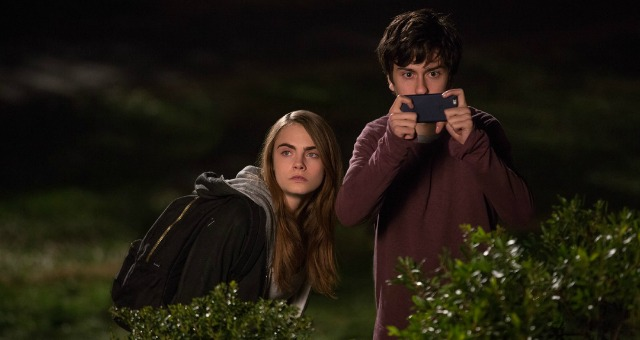Fun and games with stars of Paper Towns