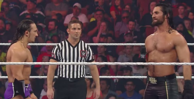 Neville vs. Seth Rollins  Raw  April 6  2015