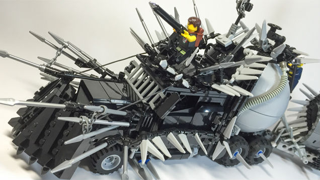 Mad Max:Fury Road Gears Up Vehicles As They Go Lego