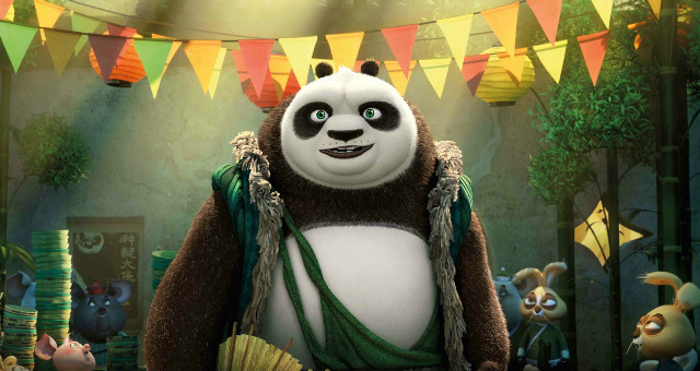 The Weight Is Over In New Kung Fu Panda 3 Poster