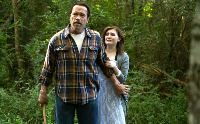 See Arnie in action in new Maggie clips