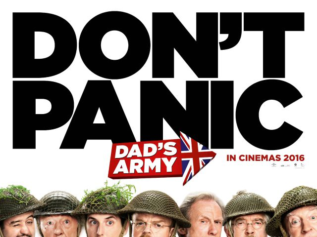 """You Stupid Boy!"" It's The New Dad's Army Poster"