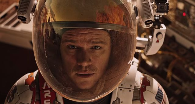 Matt Damon Goes Red (Planet) In New The Martian Trailer