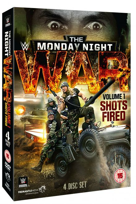 DVD Review - The Monday Night War: WWE vs  WCW