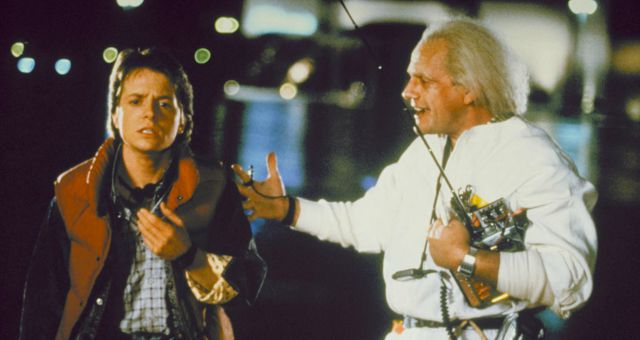 WIN BACK TO THE FUTURE 30TH ANNIVERSARY TRILOGY on Blu-ray™
