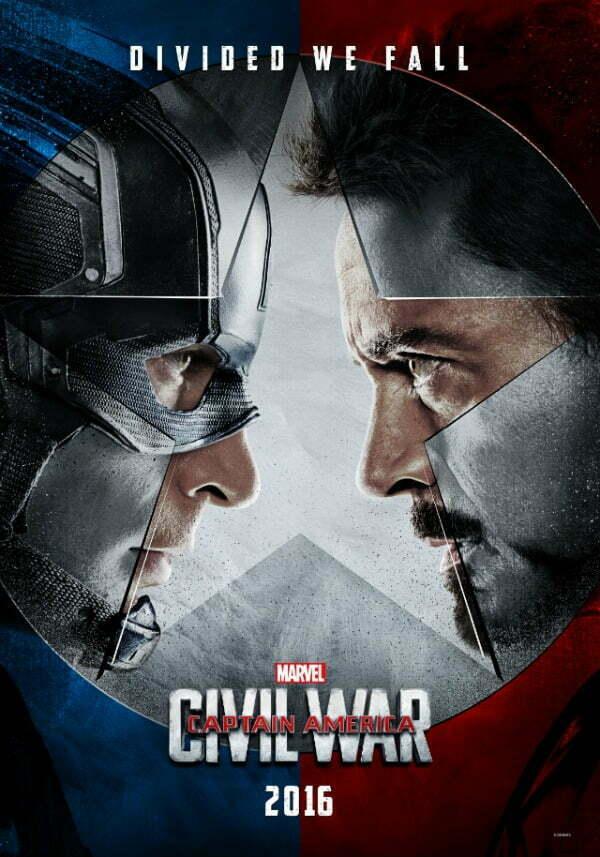 captain americ civil war faceoff poster