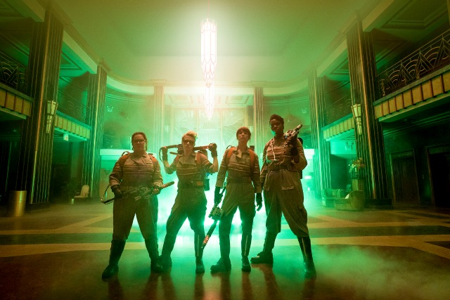 New Ghostbusters Image Show These Girls Mean Business