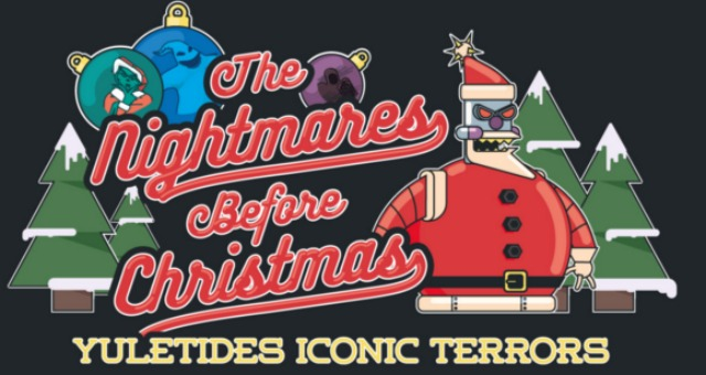 the nightmares before christmas: yuletides iconic terrors