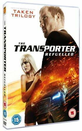 The Transporter Refuelled DVD
