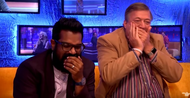 See New Grimsby Reaction Clip From Jonathan Ross Show