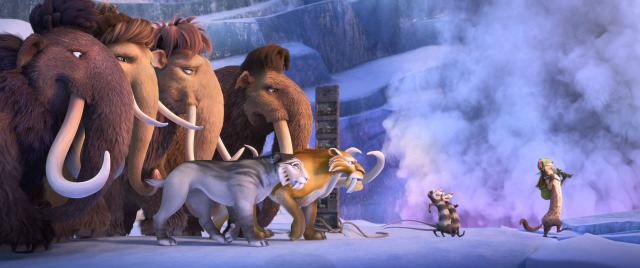 Here Comes The Meteors In New Ice Age:Collision Course Trailer