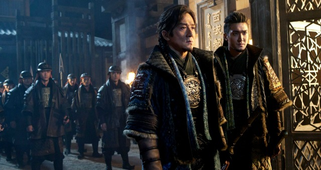 Win Dragon Blade On DVD