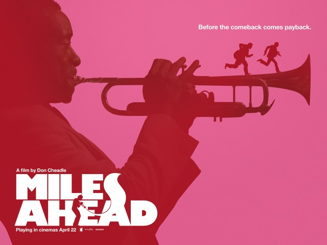 Miles Ahead Pink Poster