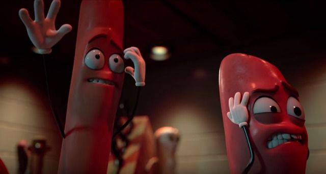 They Where Made For Each Other, Watch Sausage Party Trailer!