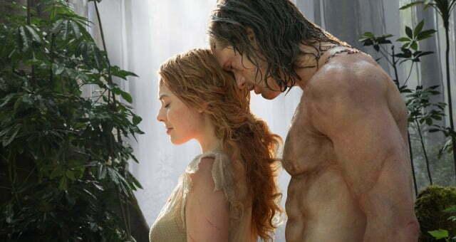 Legend Of Tarzan New Trailer The Legend Meets Jane